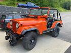 1975 Jeep CJ  1975 CJ5 Jeep with Plow