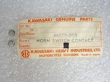 Kawasaki NOS NEW  46079-003 Horn Switch Contact (2) Z1 900 Superbike 1973-75