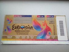 Eurovision Song Contest in Russland Moskau 14.05.2009 Ticket Billet orig.