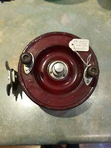 Alvey vintage rosewood fishing reel