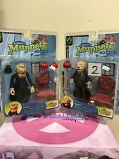 Palisades Muppet Show  Statler And Waldorf Lot Of 2