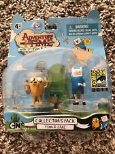 2011 SDCC Adventure Time Finn & Jake Collector's Pack Action Figures