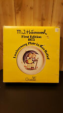 Hummel 1st Edition 1975 Stormy Weather Anniversary plate by Goebel West Germany