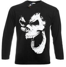 SKULL OUT Long Sleeve T Shirt/Vampire/Halloween/Gothic/Metal/Goth/Punk/Festival