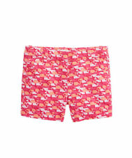 NWT VINEYARD VINES GIRL'S PINK WHALE PINK OUTLINE SHORTS SIZE 10