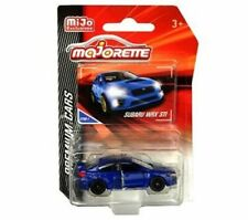 Majorette 1:64 Premium Cars Subaru WRX STI Blue MiJo Exclusives 3052MJT Diecast