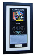 UB40 Labour Of Love CLASSIC CD Album GALLERY QUALITY FRAMED+EXPRESS GLOBAL SHIP