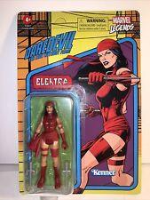 Marvel Legends Daredevil Man without Fear Elektra Retro Kenner Figure unpunched