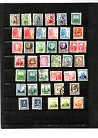 41 timbres ESPAGNE : REPUBLICA ESPANOLA