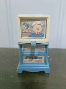 Fisher Price Loving Family 1993 Dream Dollhouse 3 Screen Flip TV Television