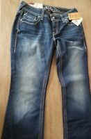 NWT Ariat Women's Jeans RUBY Low Rise Boot Cut 28s