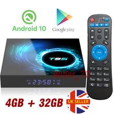 2020 NEW T95 Android 10.0 TV Box 4GB+32GB Quad Core HD Media Player WIFI HDMI UK