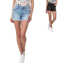 Only Damen Jeans Shorts Bermudas Denim Casual Used Look Damenhose Color Mix NEU