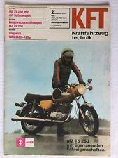 Kraftfahrzeugtechnik KFT 02/1975 MZ TS 250 IFA DDR Geschenk Ostern Selten Alt