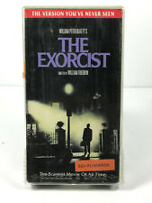 The Exorcist VHS Ex-Rental in Squeeze and Shake case NO MOLD nice