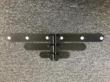 1 par de muelle de puerta de persiana bala Cerraduras carcasas Oval redondo cara