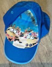 DISPICABLE ME MINIONS BLUE BOYS BASEBALL CAP - UNIVERSAL STUDIOS