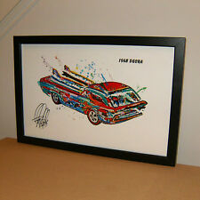 Hot Wheels 1968 Deora Redline Sweet 16 Car Racing Print Poster Wall Art 11x17