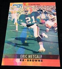 ERIC METCALF 1990 Pro Set ERROR Color LAVA Bleed & Wrong Back BENNIE BLADES