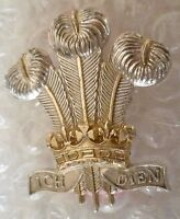 Staybrite Royal Regiment Wales Cap Badge Anodised (A/A)