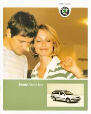 Prospekt/brochure skoda Octavia Tour 08/2006