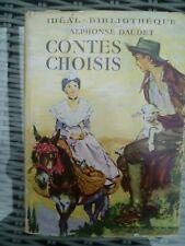 Idéal-Bibliothèque - Alphonse Daudet - Contes choisis - ill Pierre Probst