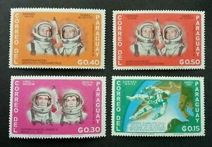 [SJ] Paraguay Space 1965 Astronomy Astronauts (stamp) MNH