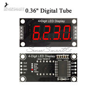 "0.36"" TM1637 7-Segment 4-Bit Red Digital LED Tube Display Module For Arduino"
