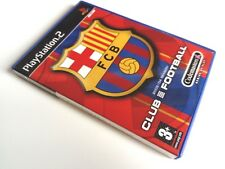 Club Football: FC Barcelona 03/04 - PS2 PlayStation 2 PAL Game Rare