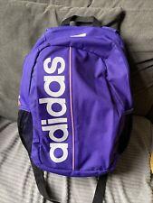 Purple / Pink  adidas rucksack backpack. School. Sports everyday use..