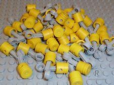 LEGO ® technique piston jaune avec détraqué Hell Gris 50 pièces 2852 2851 produit NEUF