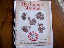 Continental motors mechanics manual David Bradley and others book # 14