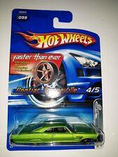 Hot Wheels Pontiac Bonneville. Faster Than Ever Series. 2005 Mattel. (P-3)