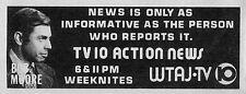 1973 Tv Ad~BOB MOORE~WTAJ NEWS~ALTOONA/PITTSBURGH,PENNSYLVANIA~NEWSMAN~REPORTER