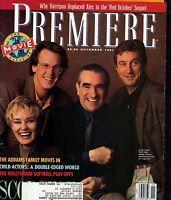 1991 Premiere November - Angelica huston, Addams Family, Robert DeNiro;Scorsese