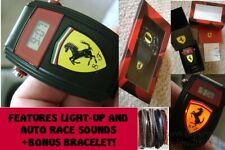NEW Scuderia Ferrari 0810012 Watch Child/Adult Novelty Watch w/Racing Sound