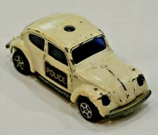 Vintage Corgi Juniors Whizzwheels Volkswagen Beetle Police Car - Great Britain