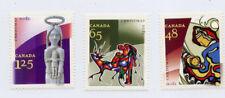 CANADA 2002 CHRISTMAS SET SC1965 1966 & 1967 MNH FV$2.38