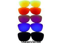 Galaxy Replacement Lenses For Oakley Frogskins Black&Blue&Purple&Red&Gold 5PAIR