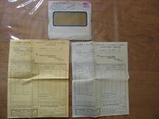 1935 Facture et Enveloppe AIR LIQUIDE pour Garage Mecanicien Mainsat Creuse