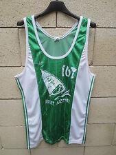 VINTAGE Maillot basket porté n2 ADIDAS IUT SAINT-NAZAIRE ASC Ventex trikot shirt