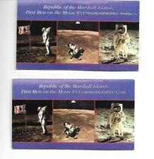 Two Apollo 11 Five Dollar Commemorative Coin