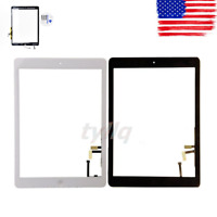 New Touch Digitizer Screen+Home Button Flex for iPad Air.A1474,A1475,A1476