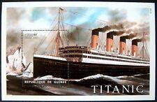1998 MNH GUINEA TITANIC STAMPS SOUVENIR SHEET OCEAN LINER SHIPS CRUISE PASSENGER