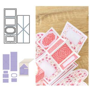 Metal Cutting Dies Twist Pop-Up Scrapbooking Cards Making Paper Embossing Craft