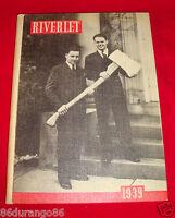 1939 ROCKY RIVER HIGH SCHOOL YEARBOOK OHIO RIVERLET