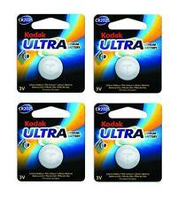 KODAK ULTRA CR2025 3V Botón Litio Batería EXP 2023 Cuatro Pack