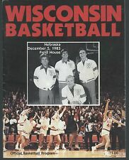 1983 Bo Ryan Wisconsin Basketball 1st Cover Badgers UW-Platteville Pioneers NCAA