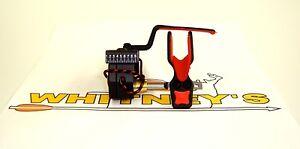Ripcord Code Red Fall Away Arrow Rest - LH- Drop Rip Cord-Black-RCRB-L
