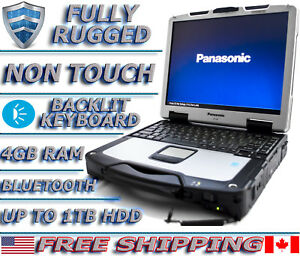 Panasonic Toughbook CF-30 1.6GHz 4GB upto 1TB HDD Military Rugged Laptop